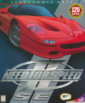 Portada de la descarga de Need for Speed II SE