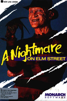 Carátula del juego A Nightmare on Elm Street (PC)