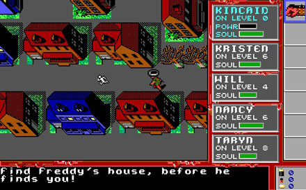 Pantallazo del juego online A Nightmare on Elm Street (PC)