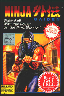 Carátula del juego Ninja Gaiden - Ninja in The USA (PC)