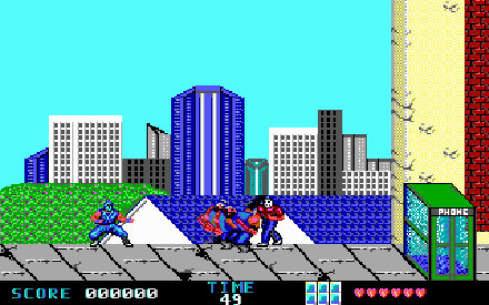 Pantallazo del juego online Ninja Gaiden - Ninja in The USA (PC)