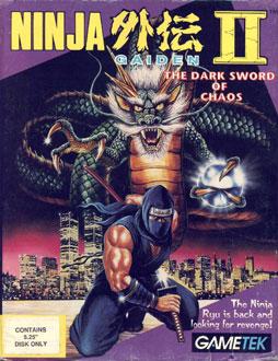 Carátula del juego Ninja Gaiden II - The Dark Sword of Chaos (PC)