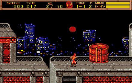 Pantallazo del juego online Ninja Gaiden II - The Dark Sword of Chaos (PC)