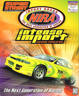 Juego online NIRA Intense Import Drag Racing (PC)