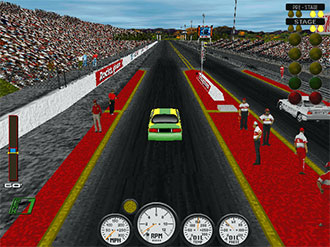 Imagen de la descarga de NIRA Intense Import Drag Racing