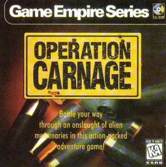 Carátula del juego Operation Carnage (PC)
