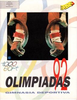 Carátula del juego Olimpiadas 92 - Gimnasia Deportiva (PC)