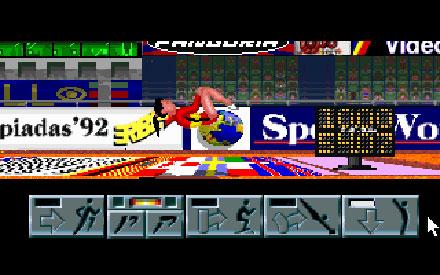 Pantallazo del juego online Olimpiadas 92 - Gimnasia Deportiva (PC)