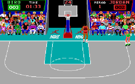 Imagen de la descarga de Jordan vs Bird: One on One