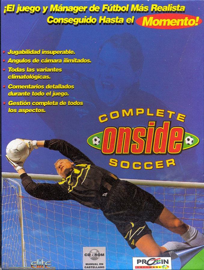 Portada de la descarga de ONSIDE Complete Soccer