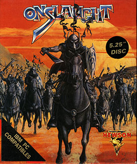 Portada de la descarga de Onslaught