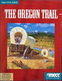 Portada de la descarga de The Oregon Trail Deluxe