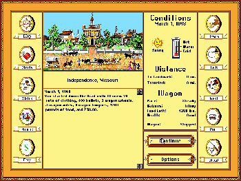 Imagen de la descarga de The Oregon Trail Deluxe