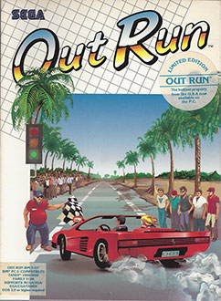 Portada de la descarga de Out Run