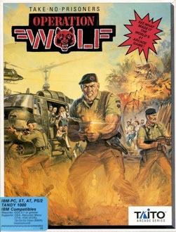Portada de la descarga de Operation Wolf
