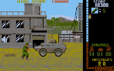 Pantallazo del juego online Operation Wolf (PC)