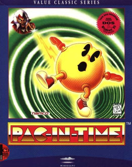Carátula del juego Pac-In-Time (PC)
