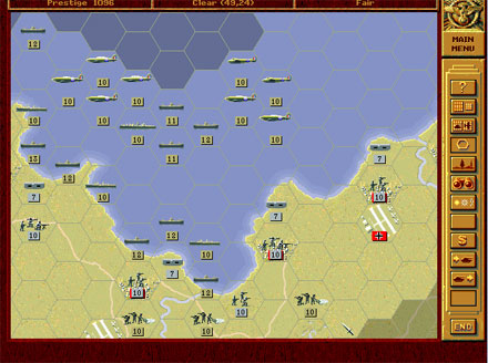 Pantallazo del juego online Panzer General (PC)
