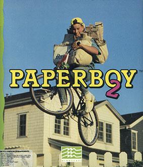 Portada de la descarga de Paperboy 2