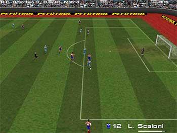 Imagen de la descarga de PC Fútbol 6.0