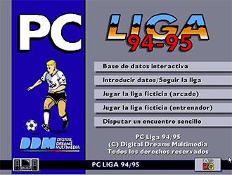 Portada de la descarga de PC Liga 94-95