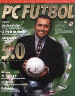 Portada de la descarga de PC Futbol 5 0