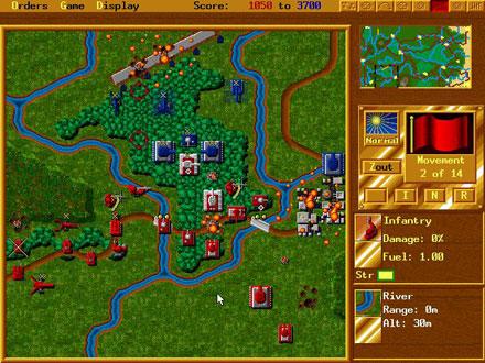 Pantallazo del juego online Perfect General II (PC)