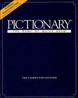 Portada de la descarga de Pictionary: The Computer Edition