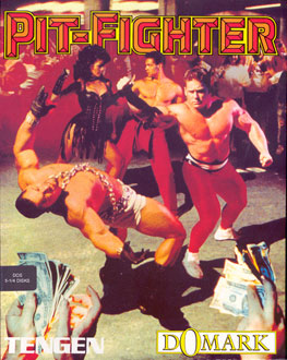 Carátula del juego Pit-Fighter (PC)