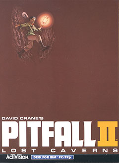 Portada de la descarga de Pitfall II: Lost Caverns