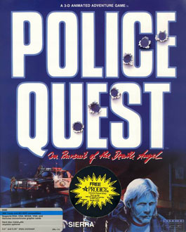 Portada de la descarga de Police Quest: In Pursuit of the Death Angel