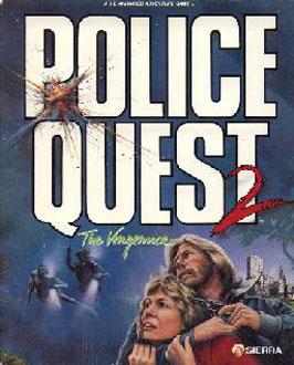 Portada de la descarga de Police Quest 2: The Vengeance