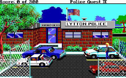 Pantallazo del juego online Police Quest 2 The Vengeance (PC)