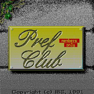 Carátula del juego Pref Club (PC)