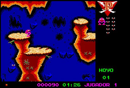 Pantallazo del juego online Poogaboo La Pulga II (PC)