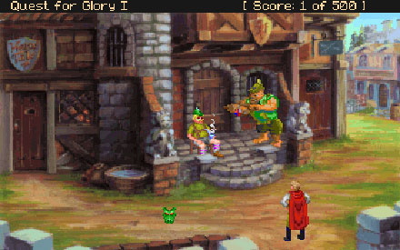 Imagen de la descarga de Quest for Glory I: So You Want To Be A Hero