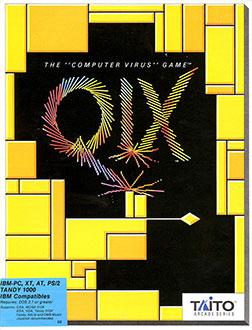 Portada de la descarga de Qix