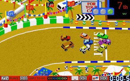 Pantallazo del juego online Race Mania (PC)