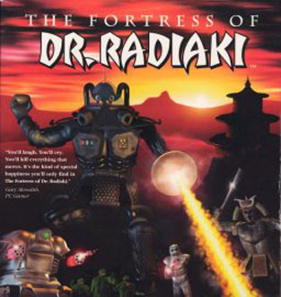 Portada de la descarga de The Fortress of Dr Radiaki