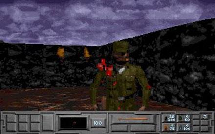 Pantallazo del juego online The Fortress of Dr Radiaki (PC)
