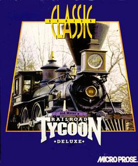 Carátula del juego Sid Meier's Railroad Tycoon Deluxe (PC)