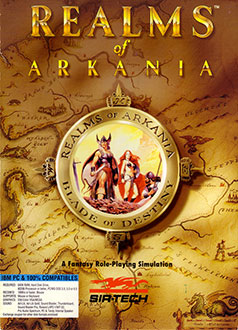 Juego online Realms of Arkania: Blade of Destiny (PC)