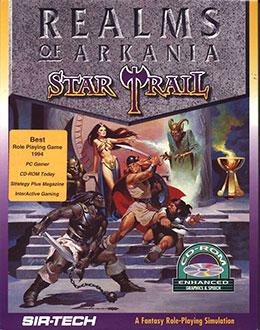 Portada de la descarga de Realms of Arkania: Star Trail