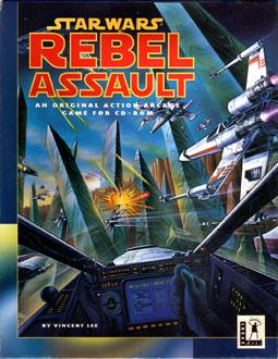 Portada de la descarga de Star Wars: Rebel Assault