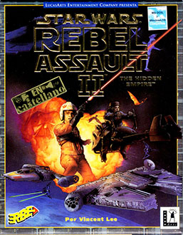 Portada de la descarga de Star Wars: Rebel Assault II – The Hidden Empire
