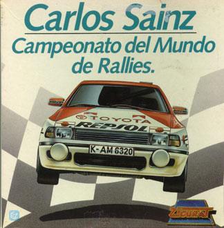 Carátula del juego Carlos Sainz Campeonato del Mundo de Rallies (PC)