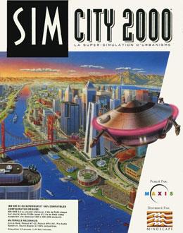 Carátula del juego SimCity 2000 (PC)