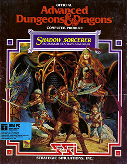 Carátula del juego Advanced Dungeons & Dragons - Shadow Sorcerer (PC)