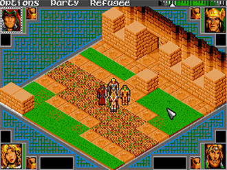 Pantallazo del juego online Advanced Dungeons & Dragons - Shadow Sorcerer (PC)