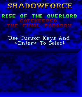 Carátula del juego ShadowForce (PC)